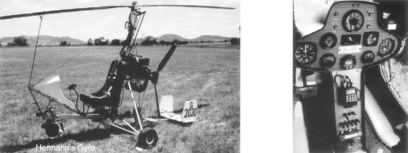 Hermann Roche Gyrocopter Helicopter