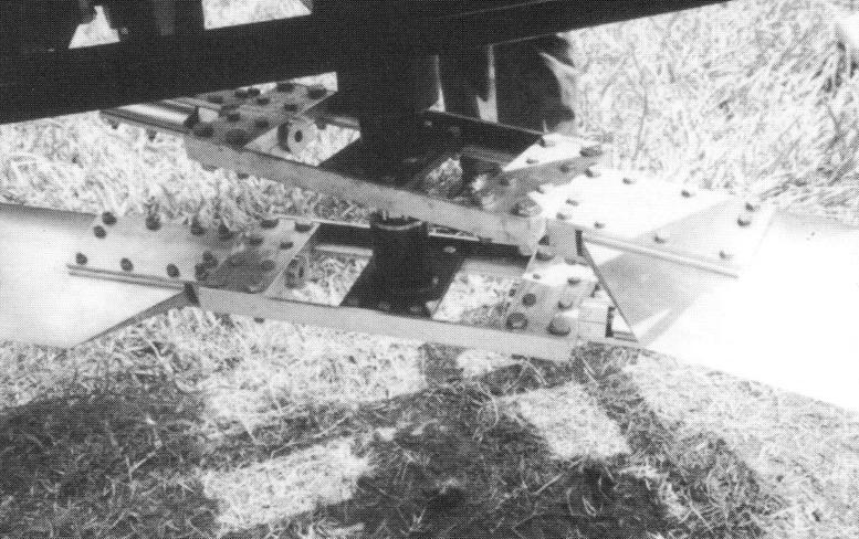 PAM 1000B flying platform extruded blades