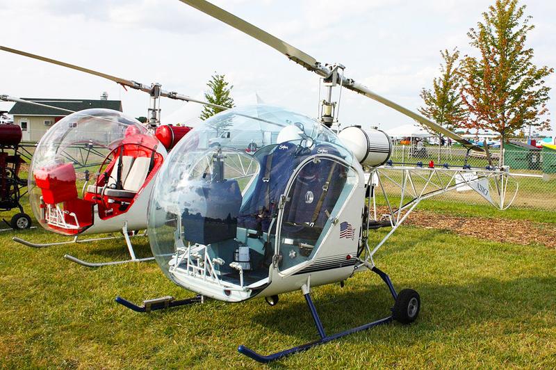 Safari kit helicopter airshow display