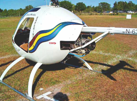 Small turbine powered helicopter