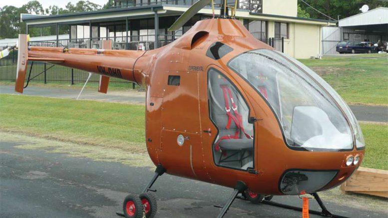 Australian diesel kit helicopter