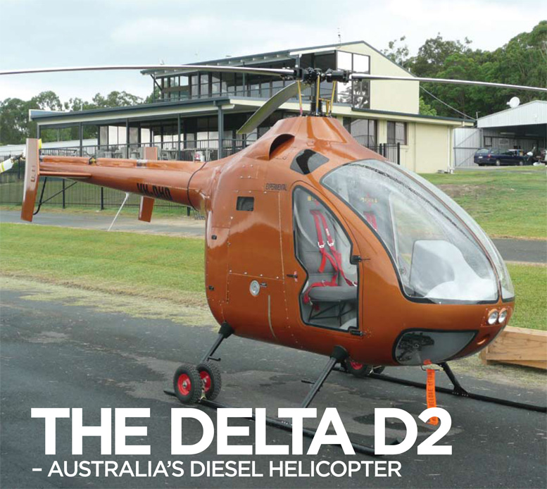 Delta Helicopters DELTA D2 Diesel Helicopter - Redback Aviation