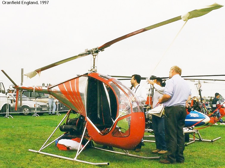Ben Copes Bug-2 prototype helicopter