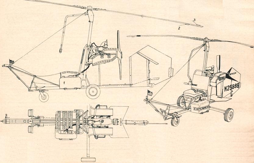 Bensen B8M gyrocopter