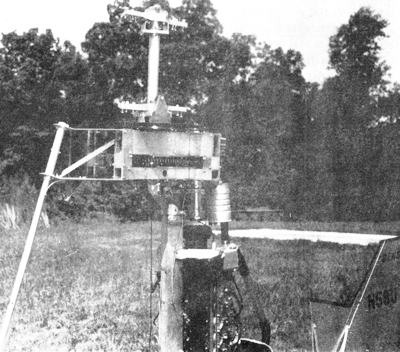 Bensen helicopter rotorshaft