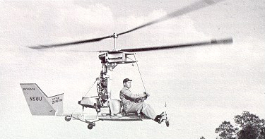 Bensen Zipster helicopter