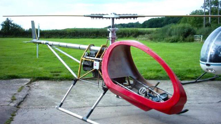 BMW motorcycle engine bug helicopter
