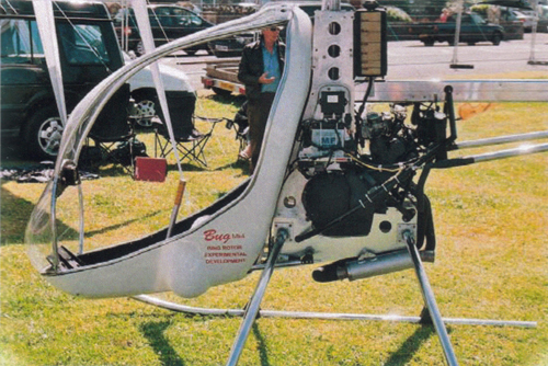 BUG 4 experimental helicopter airshow display