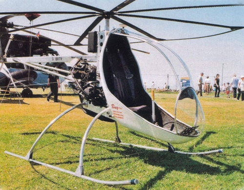 BUG 4 helicopter airshow display
