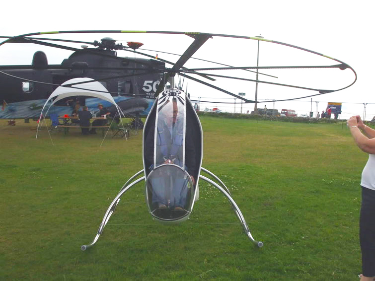 Bug Helicopter Mark 4 with full size Ring Rotor System