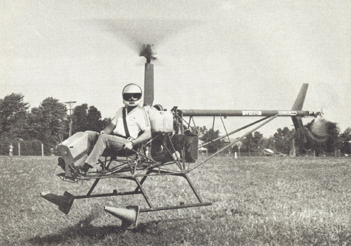 CH6 Ultralight Personal helicopter