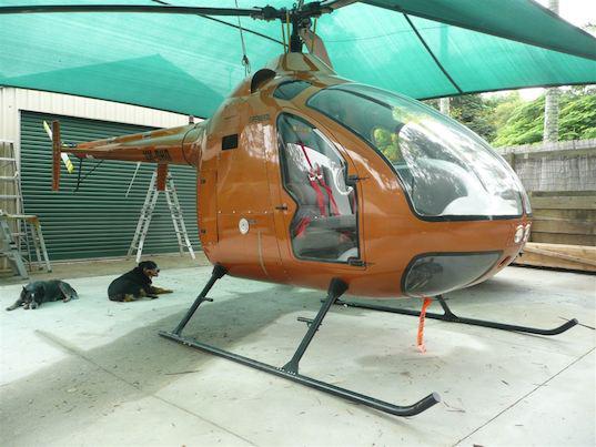 Delta D2 diesel helicopter