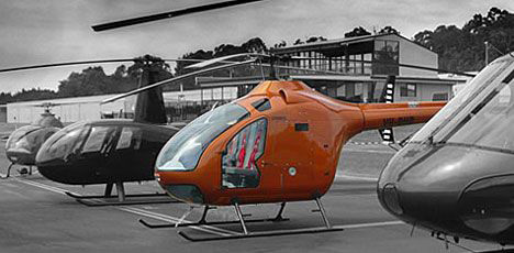 Delta diesel helicopter photo