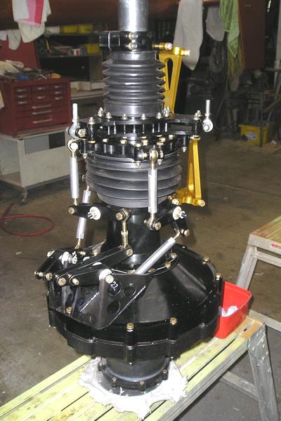Delta diesel helicopter main transmission