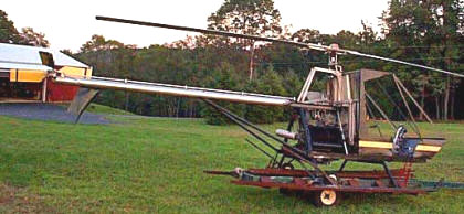 The Dusty Experimental Helicopter