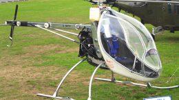 BUG 4 helicopter registered G-BXTV