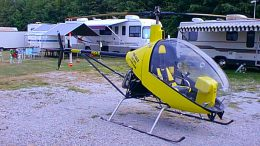 Glen Ryerson Miss Nina CH-7 Angel helicopter