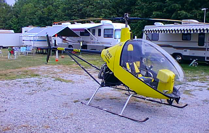 Glen Ryersen & Life With His Miss Nina Angel Helicopter