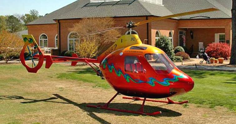 HeloWerks WASP HX2 turbine helicopter