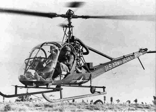 Hiller H-23B Raven helicopter