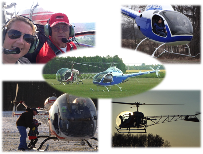 Homer Bell's kit helicopter flight services