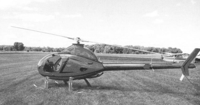 Homer Bell's Rotorway Exec Helicopter