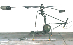 Jet Tip Helicopter