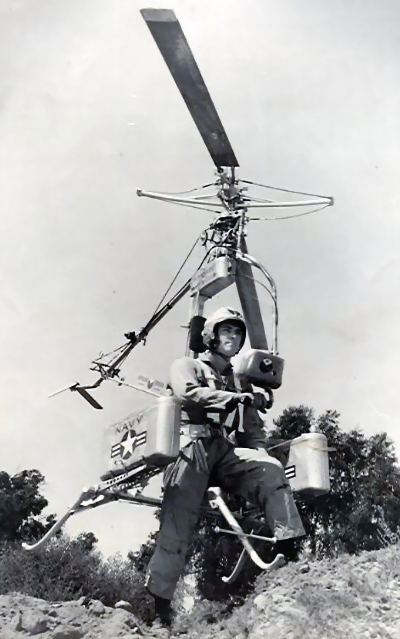 Navy Personal Helicopter