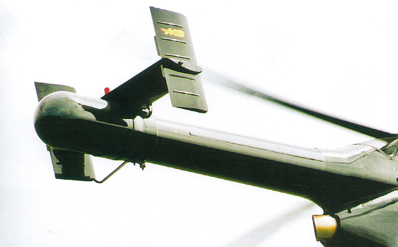 NOTAR Helicopter Tail Boom Fins