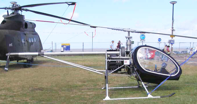 Ben Cope's BUG Mark 3 helicopter