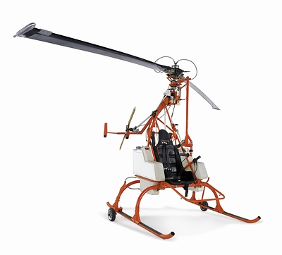 Tip Jet Dragonfly Helicopter