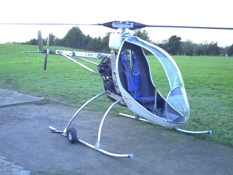 The ultralight BUG helicopter