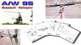 AW95 homebuilt helicopter plans