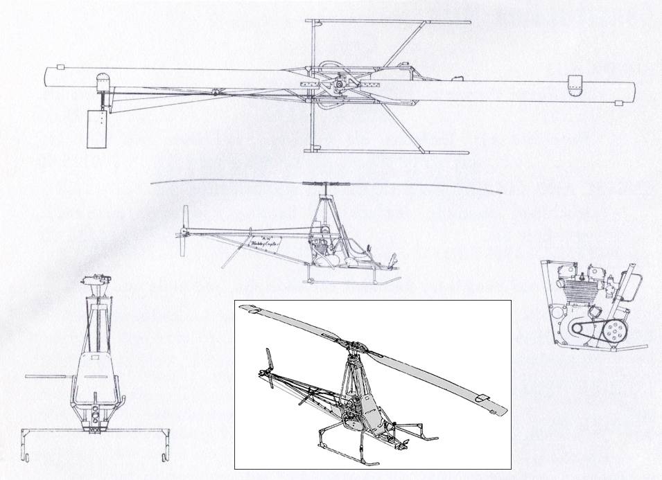 Adams Wilson Hobby Copter Helicopter