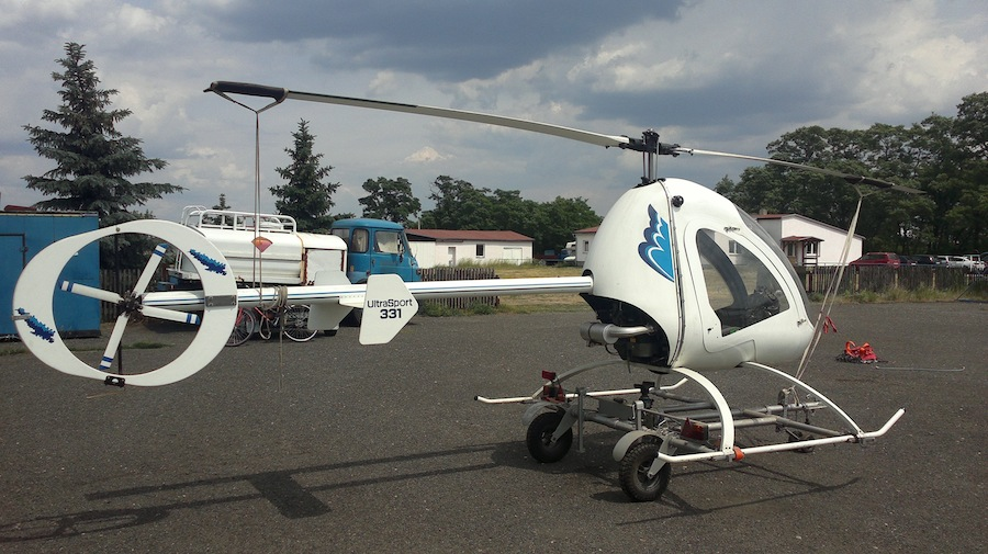 American Sportscopter Ultrasport 496 Helicopter and Ultrasport 254 Helicopter