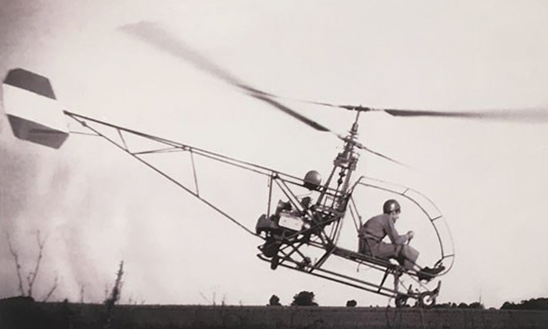 Augusto Cicare CH1 coaxial helicopter