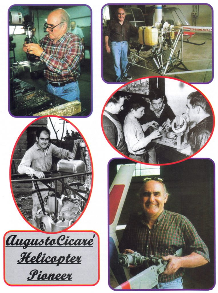 Augusto Cicare Helicopter Pioneer