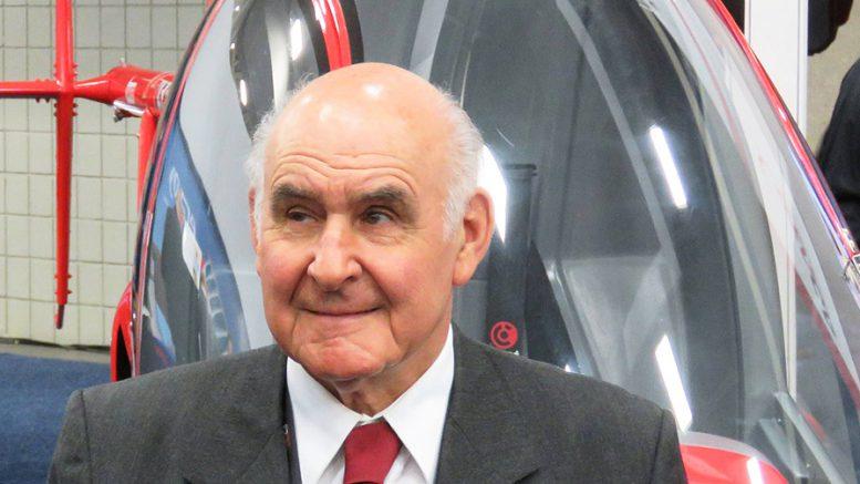 Augusto Cicare Master helicopter designer