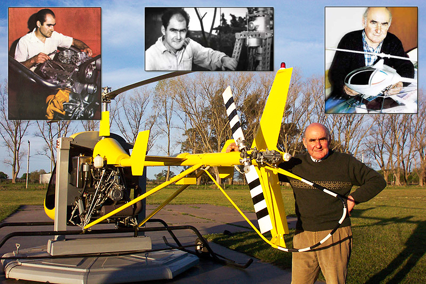 Augusto Cicare helicopters and his many life achievements