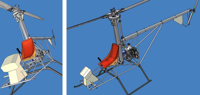 CH-4 Furia Skylark helicopter
