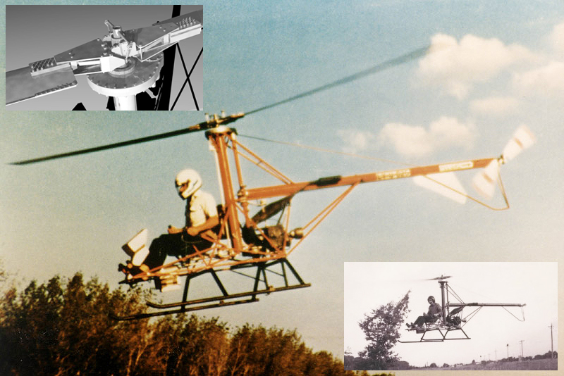 CH4 Homebuilt Helicopter