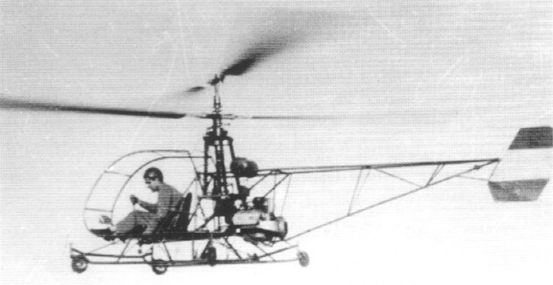 Cicare 1 helicopter
