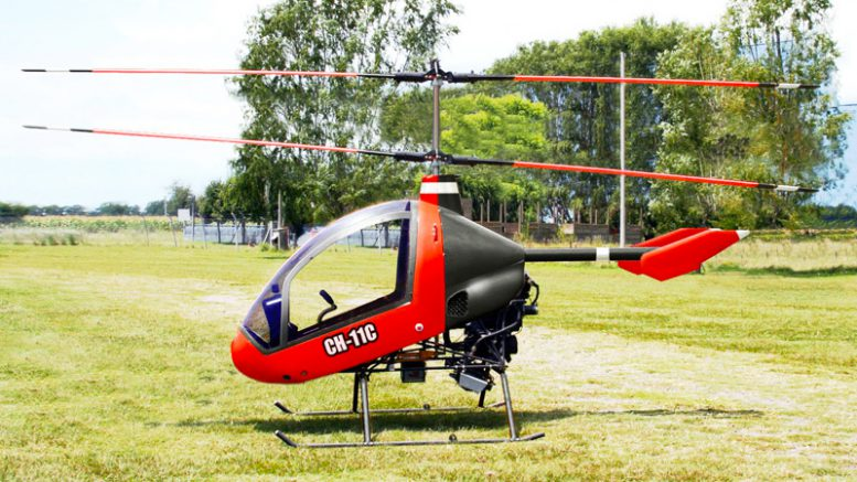 Cicare CH11c Coaxial Helicopter