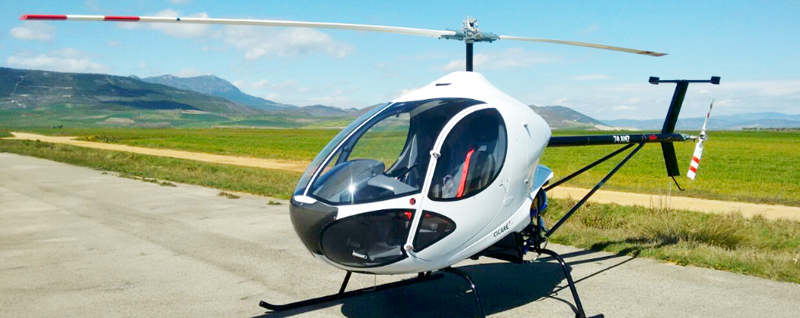 Cicare CH8 two seat helicopter