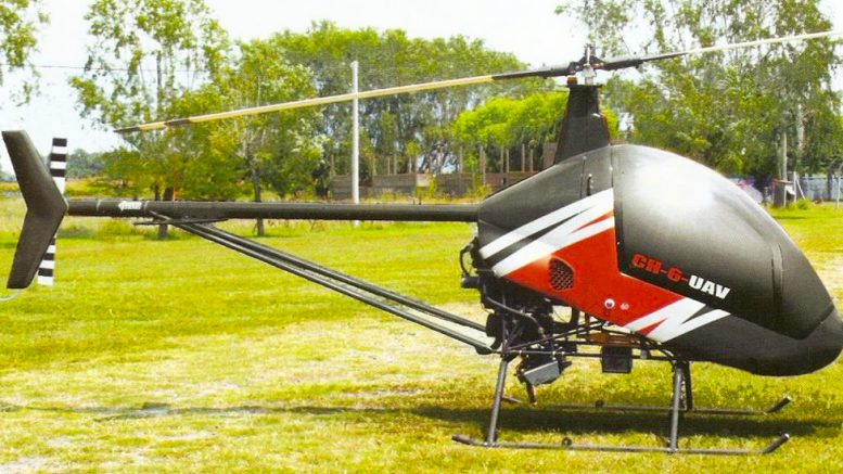 Cicare drone helicopter