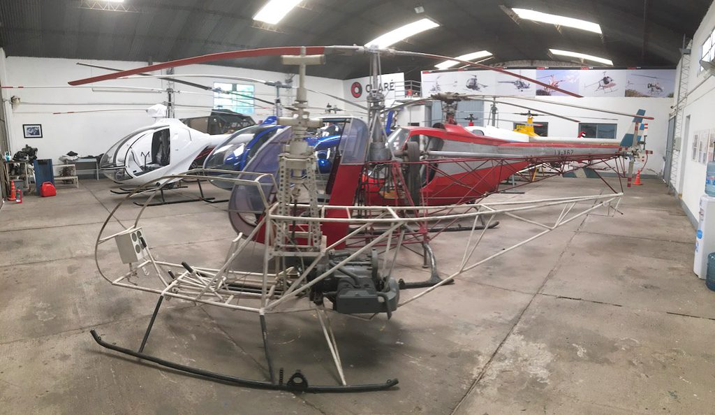 Cicare helicopter museum