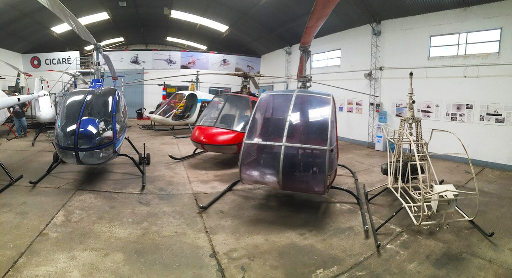 Cicare helicopters