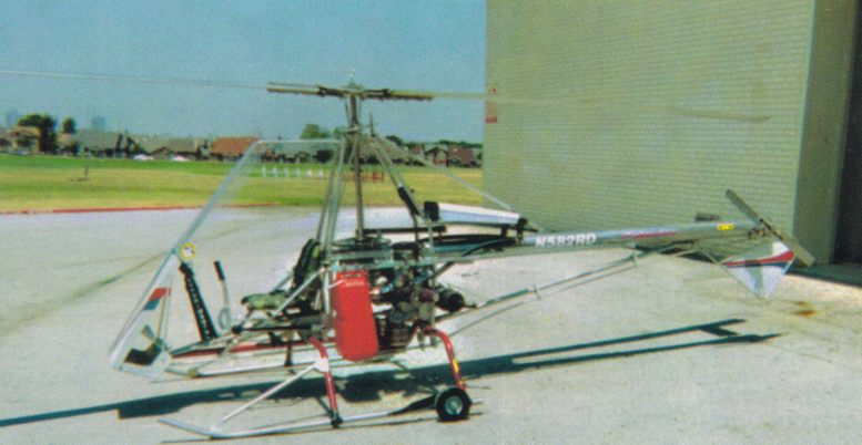 Clean Skytwister plans built helicopter
