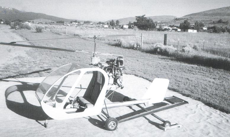 Coaxial Sky Trekker Helicopter By Aldo Sella