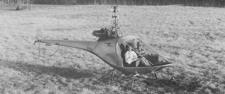 Cobra 2 place gas turbine helicopter